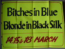 Bitches in Blue / Blonde in Black Stockings - UK Quad